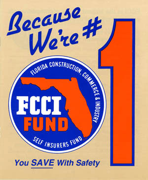 #1 Worker's Comp provider in Florida ad from 1982