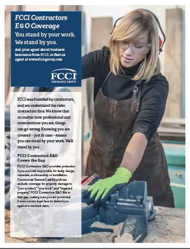 Construction Business Insurance | FCCI Insurance Group