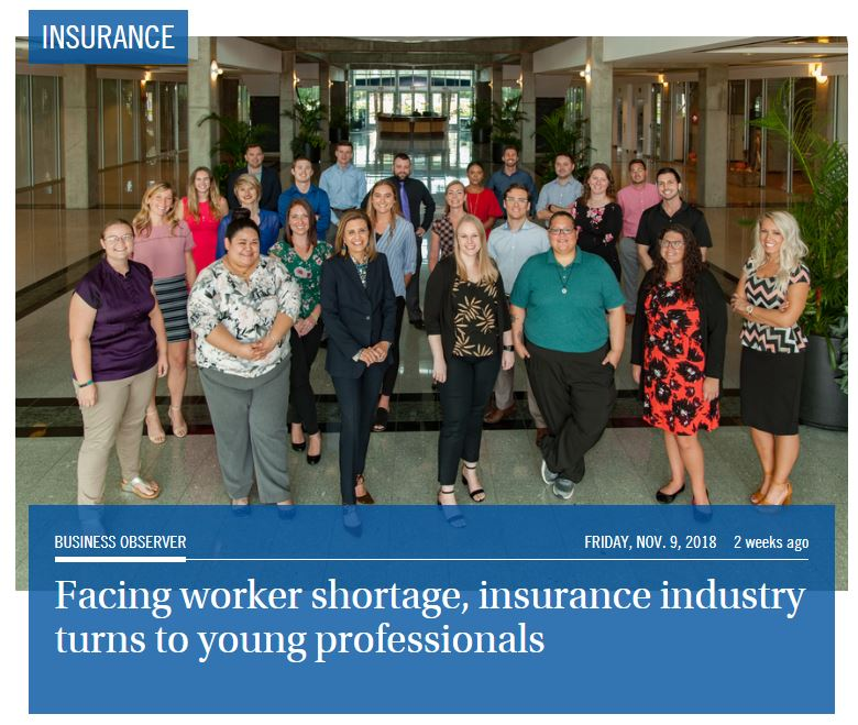 Members of FCCI's Young Professionals Group