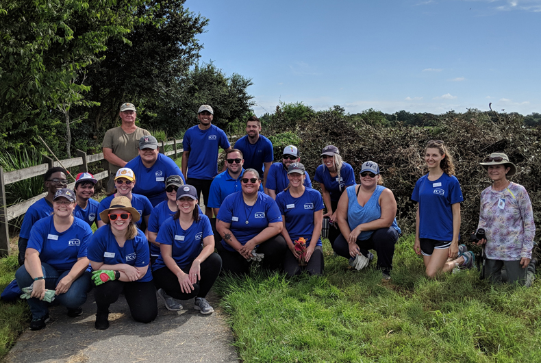 FCCI teammates volunteer as part of National Public Lands Day